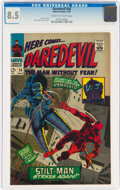 Silver Age (1956-1969):Superhero, Daredevil #26 (Marvel, 1967) CGC VF+ 8.5 Cream to off-white pages....