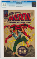 Silver Age (1956-1969):Superhero, Daredevil #24 (Marvel, 1967) CGC GD/VG 3.0 Cream to off-white pages....