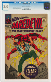 Daredevil #24 (Marvel, 1967) CGC GD/VG 3.0 Cream to off-white pages