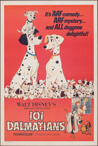 "101 Dalmatians (Buena Vista, R-1972). Folded, Very Fine+. Australian One Sheet (27"" X 40""). Animation"