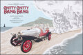 Movie Posters:Fantasy, Chitty Chitty Bang Bang (Hero Complex Gallery, 2017). Rolled, Near Mint. Hand Numbered Limited Edition Screen Print Poster (...