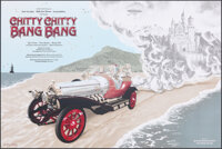 Chitty Chitty Bang Bang (Hero Complex Gallery, 2017). Rolled, Near Mint. Hand Numbered Limited Edition Screen Print Post...