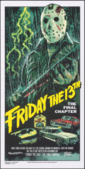 "Movie Posters:Horror, Friday the 13th: The Final Chapter (Bottleneck, 2017). Rolled, Near Mint+. Limited Edition Screen Print Poster (15"" X 30"") R..."