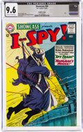 Silver Age (1956-1969):War, Showcase #50 I Spy - Pacific Coast Pedigree (DC, 1964) CGC NM+ 9.6 Off-white to white pages....