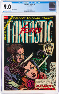 Fantastic Fears #8 (Farrell, 1954) CGC VF/NM 9.0 Off-white to white pages