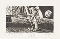 Explorers:Space Exploration, Neil Armstrong Signed Paul Calle Limited Edition (11) Arti...