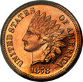 Proof Indian Cents, 1878 1C PR66+ Red PCGS. This was the first year th...