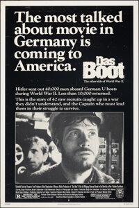 "Das Boot (Columbia, 1982). Rolled, Fine+. One Sheet (27"" X 41""). War"