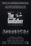 "Movie Posters:Crime, The Godfather (Paramount, R-1997). Rolled, Very Fine-. 25th Anniversary Mylar One Sheet (26.75"" X 39.75"") S. Neil Fujita Art..."