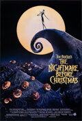 "Movie Posters:Animation, The Nightmare Before Christmas (Touchstone, 1993). Rolled, Very Fine/Near Mint. One Sheet (27"" X 41"") DS. Animation.. ..."