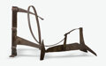 Sculpture, Sir Anthony Caro (1924-2013). Floor Piece B 124, 1975. Rusted and varnished steel. 31 x 60 x 24 inches (78.7 x 152.4 x 6...