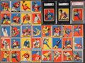 Football Cards:Lots, 1949 Leaf Football Collection (35). ...