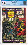 Silver Age (1956-1969):Superhero, Strange Tales #151 (Marvel, 1966) CGC NM+ 9.6 White pages....