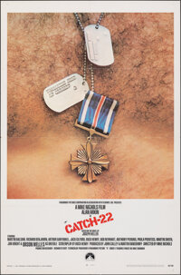 "Catch-22 (Paramount, 1970). Folded, Fine/Very Fine. One Sheet (27"" X 41""). War"