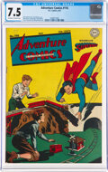 Golden Age (1938-1955):Superhero, Adventure Comics #116 (DC, 1947) CGC VF- 7.5 Off-white to white pages....