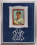 Baseball Cards:Singles (1960-1969), Extremely Rare 1963 Topps Mickey Mantle Premium. ...