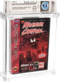 Video Games:Nintendo, Spider-Man and Venom: Maximum Carnage - Wata 9.4 A++ Sealed [Red Cartridge, Early Production], GEN Acclaim 1994 USA....