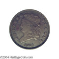1831 1/2 C Impaired Proof, Corroded, NCS (VF30 Corroded). Original. B-1, C-1, High R.6. This specimen is very similar in...