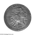 Large Cents: , 1793 1C Wreath Cent--Lettered Edge--XF45 NGC. S.11b or c, ...