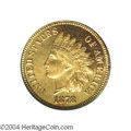 Proof Indian Cents: , 1878 1C PR66 Red PCGS. The bright gold color is nearly as ...