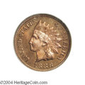 Proof Indian Cents: , 1888 1C PR65 Red PCGS. While a more common date in terms ...