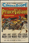 "Movie Posters:Adventure, Prince Valiant (20th Century Fox, 1954). One Sheet (27"" X 41"").Adventure...."