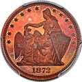 Patterns, 1872 25C Amazonian Quarter Dollar, Judd-1196, Pollock-1336, Low R.7, PR66 Red and Brown PCGS....