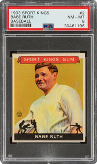 1933 Sport Kings Babe Ruth #2 PSA NM-MT 8