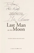 Explorers:Space Exploration, Gene Cernan Signed Book: The Last Man on the...