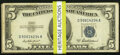 Forty Average Circulated $5 Silver Certificates from the 1934A, 1934B, 1934C, 1934D, 1953A, and 1953B Series. Very Good...