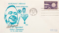 Explorers:Space Exploration, Alan Shepard Signed Rare Cover Commemorating His Meeting w...