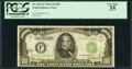 Fr. 2212-F $1,000 1934A Federal Reserve Note. PCGS Very Fine 35