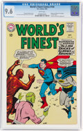 Silver Age (1956-1969):Superhero, World's Finest Comics #144 (DC, 1964) CGC NM+ 9.6 White pages....