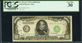 Small Size:Federal Reserve Notes, Fr. 2211-G $1,000 1934 Dark Green Seal Federal Reserve Not...