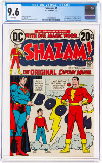 Shazam! #1 (DC, 1973) CGC NM+ 9.6 White pages