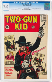 Two-Gun Kid #60 (Marvel, 1962) CGC FN/VF 7.0 Off-white pages