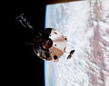 Explorers:Space Exploration, Jim McDivitt Signed Large Apollo 9 CM Gumdro...