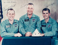 Explorers:Space Exploration, Apollo 1 Crew-Signed [and] Backup Crew-Signed Matching Lar...