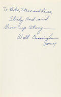 Explorers:Space Exploration, Walt Cunningham Signed Book: The All-America...