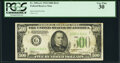 Small Size:Federal Reserve Notes, Fr. 2201-G $500 1934 Federal Reserve Note. PCGS Very Fine 30.. ...