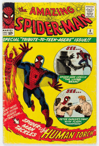The Amazing Spider-Man #8 (Marvel, 1964) Condition: GD+