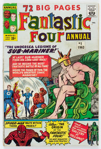 Fantastic Four Annual #1 (Marvel, 1963) Condition: VG