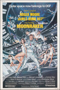 "Movie Posters:James Bond, Moonraker (United Artists, 1979). Rolled, Very Fine+. Poster (40"" X 60"") Dan Goozee Artwork. James Bond. From the Carter-J..."