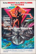 "Movie Posters:James Bond, The Spy Who Loved Me (United Artists, 1977). Rolled, Very Fine. Poster (40"" X 60"") Bob Peak Artwork. James Bond. From the ..."