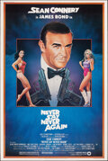 "Movie Posters:James Bond, Never Say Never Again (Warner Bros., 1983). Rolled, Very Fine. Poster (40"" X 60"") Rudy Obrero Artwork. James Bond. From th..."