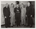 Explorers:Space Exploration, Manned Orbiting Laboratory Pilots (Astronauts): Vintage U.S. Air Force Photo Signed by the Five Members of the Second Group....