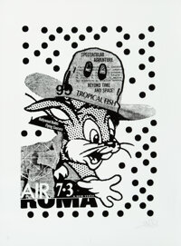 A.CE (20th century) Bunny Roma (two works), 2016 Screenprints in colors on Somerset paper 30 x 22 inches (76.2 x 55.9...