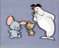 "Animation Art:Color Model, Ruff and Reddy""Pinky the Pint Sized ..."