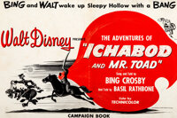 The Adventures of Ichabod and Mr. Toad Campaign Book (Walt Disney, 1949)