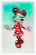 Prints & Multiples, Super A (20th century). Encaged Mickey and Encaged Minnie (set of 2), 2020. Giclee print in colors on Archival Cotto... (Total: 2 Items)